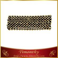 Hot sale soft jacquard tape elastic ribbon tape