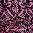 Luxury economic wallpaper shiny decoration velvet flock wallpaper