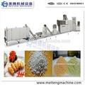 Automático pan rallado línea de procesamiento de / breadcrumb que hace la máquina
