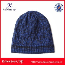 custom your design knitted hat for man/wholesale men's cap knit/hand made knit crochet hat and cap