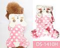 novo design de moda rosa dot aquecida inverno roupas de pet shop