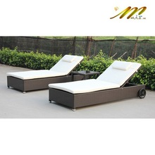 1B226 Outdoor antique tropical classic chaise lounge