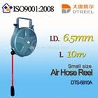 I.D. 6.5mm L 10m DTS-6810A small size air hose reel panty hose