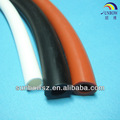 Flexible 0.5mm paredes delgadas de caucho de silicona tubo, tubo de silicona