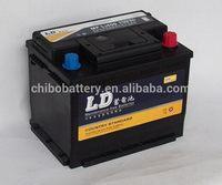 Modern top sell motorcycle/car battery L2400MF 12v60AH