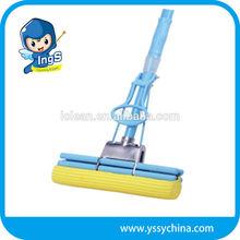 2015 new Hot Sale floor Cleaning yellow pva sponge mop refill