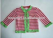 100% cotton petti tops gor children girls red stripe cute long sleeve t shirt top fashion girl t shirt