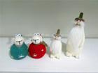 wool felt NEW fashion moder christmas gift sheep santa 2015 christmas home decoration