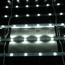 More Brighter Lens LED bar lattice light backlit double sided lightbox