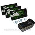 visão nocturna do cmos câmera 7 polegadas memória touch monitor de vídeo porteiro