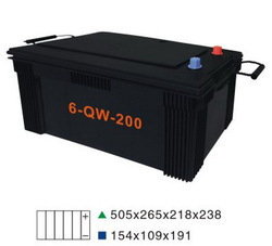 Low price hot sell new car battery charge N200MF 12v200AH