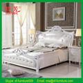 Xiao 2015 fang vente chaude doux, mobilier de chambre lit double en cuir pu