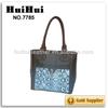 leather belt bag metal bag buckle bag with clear pocket
