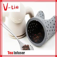 Best marketing loose tea happy man shaped infuser unique wedding favor