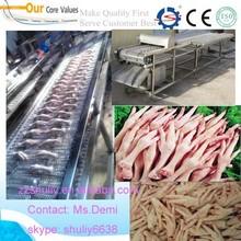 Industrial Fresh Chicken Paw Process Machine/ Duck Paw Cutting Machine