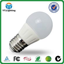 3 watt led bulb Dimmable 160 degree beam angle E27 E14 indoor used led light 3W bulb 300 lumen led 3 watt bulb