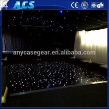 2015 top sale leds star curtain party, elegant led starlit curtain, economical led dmx control curtain