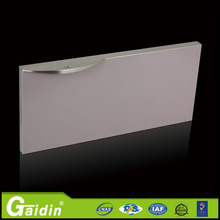 Manufacture and exporter of aluminum high quality flooring wardrobe cabinet bathroom drawer door pull edge handle