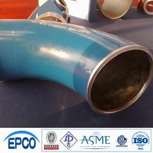B16.9 A234 WP9/91/11/22 LR alloy steel pipe blue elbow for connection sch80