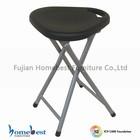 portable triangle plastic seat folding stool folding chair