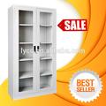 de color blanco de vidrio puerta de acero del gabinete moderno gabinetes de cocina de diseño