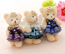 wholesale price Mini Wedding teddy bear for Zeman Brand 081