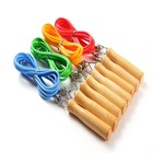 high quality crossfit wooden jump rope / skipping rope fitness