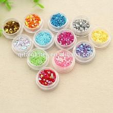 The fashion pvc glitter powder,fashion nail polish ,crafts powder