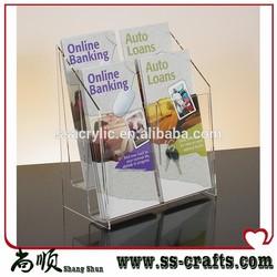 Acrylic Cosmetic Holder/Acrylic Brochure Holder/All Kinds of Acrylic Holder
