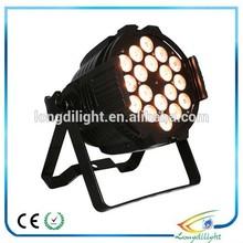 promotion!led 18* 3w par light, led par 64 rgb