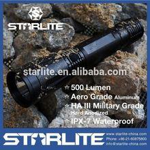 STARLITE High quality 500 Lumen IPX7 tactical light for gun