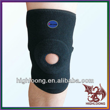 Breathable Basketball All Size Black Neoprene Knee Sleeve