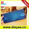 2015 New design envelope type tote bag /evening bag /bride bag for wedding /sling bag in summer