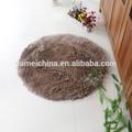 Braune runde matte teppich, Zuhause bewegen teppich, Haus deko-matte