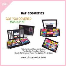 Eyeshadow Cosmetic set cheap price girls cosmetic sets hair brush cosmetics for salon