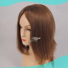 High Quality Blonde Silk Top European Human Hair Jewish Wig
