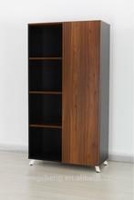 Walnut Veneer Cupboard Office Wall Cabinet/LG01