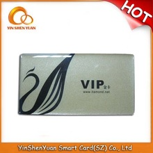 2015 customized pvc visa card printing