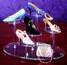 acrylic clear acrylic shoe display case/shoe display cabinet
