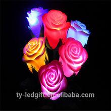 Romantic fashion design led rose flower valentine party decoration