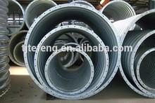 P150*D50 large diameter corrugated galvanized steel culvert pipe