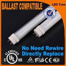 Ballast compatible new arrival UL DLC USA America high quality t8 red tube tuv tube led tube 8tube