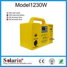 Renewable energy equipment solar powered portable mini refrigerator