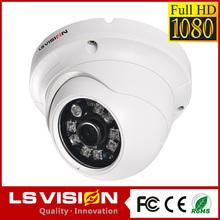 LS VISION outdoor mini dome camera 2mp cmos hd 1080p webcamera outdoor night vision ip camera