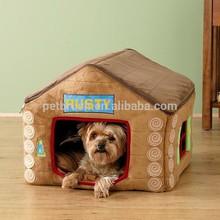 cute dog house pet plush house, pet plush house, plush mushroom pet home