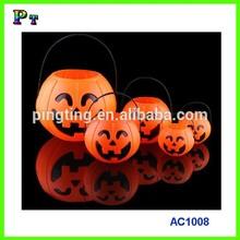Custom Size Plastic Halloween Pumpkin