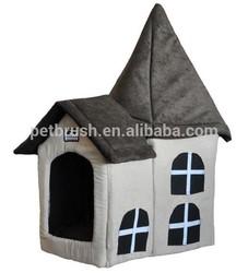 gothic house pet plush house, pet plush house, plush pet home