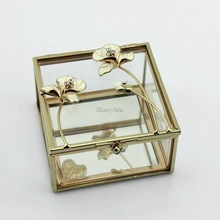 New Style Wedding Gifts Crystal Mirror Glass Jewelry Box