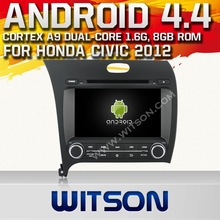 WITSON ANDROID 4.4 CAR AUDIO SYSTEM FOR KIA FORTE 2013 WITH 1.6GHZ FREQUENCY DVR SUPPORT RAM 8GB FLASH BLUETOOTH GPS