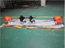 Beautiful PC kayak, Polycarbonate kayak, PC boat/New design hot double Seat Fishing Kayak/ocean kayak